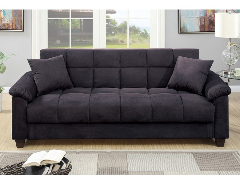 Pleasant Microfiber Sofa Bed Storiestrending Com Cjindustries Chair Design For Home Cjindustriesco