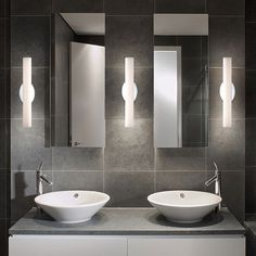 And speaking of modern lighting in the bathroom, the Loft WS-3618 Bath Light