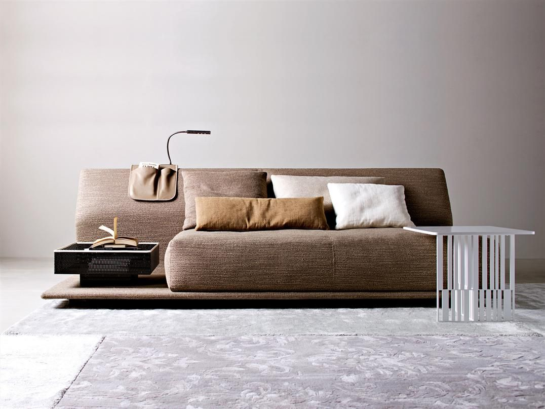 Contemporary Comfortable Sofa Bed by Molteni