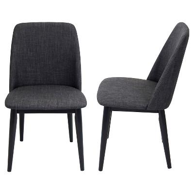 Set of 2 Tintori Mid-Century Modern Dining Chairs - LumiSource