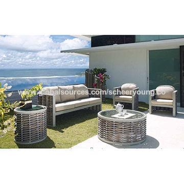 China Wicker sofa Wholesale New Design Rattan Modern outdoor garden