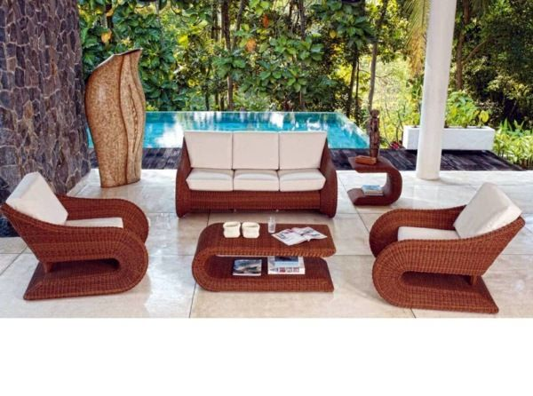 Gartenmöbel Polyrattan - 45 Outdoor rattan furniture - modern garden