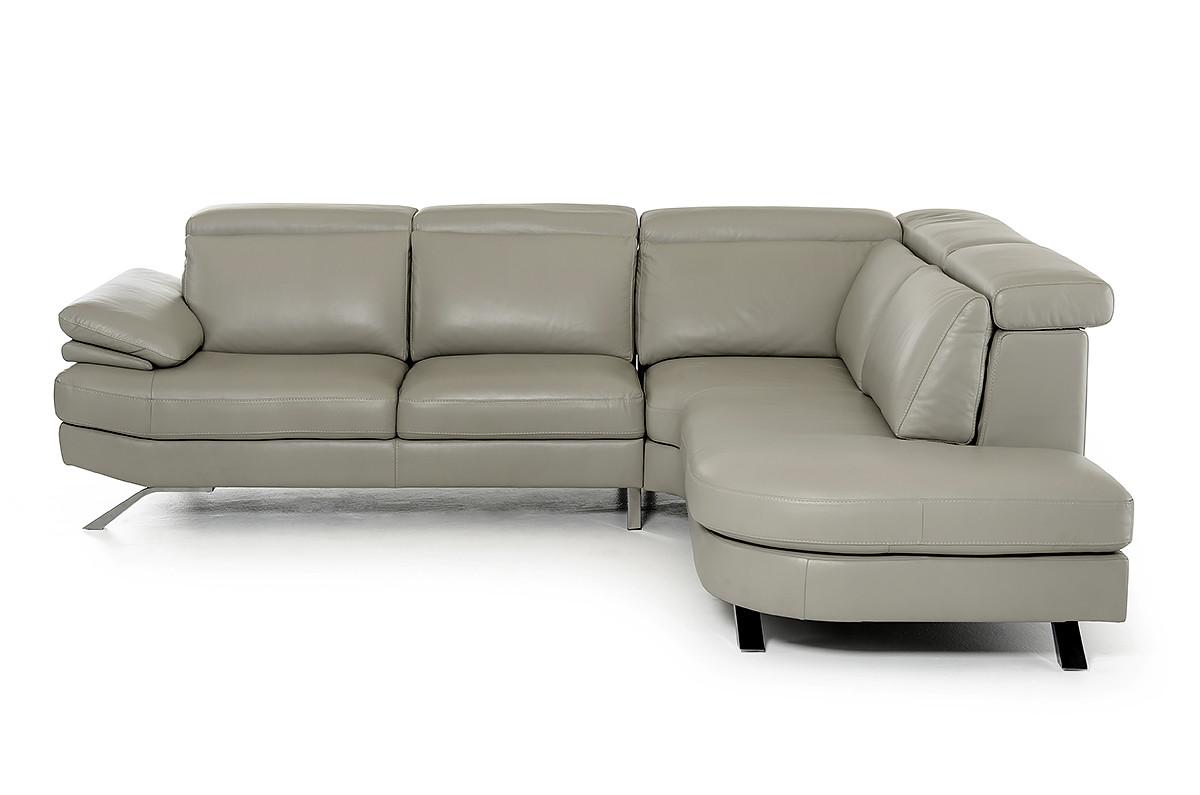 Estro-Salotti-Glenda-Italian-Modern-Grey-Leather-Sectional-