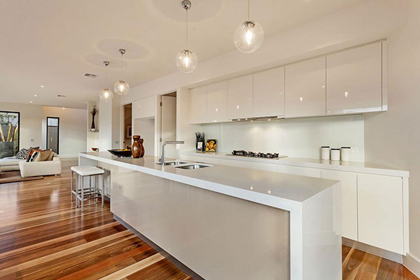 Lighting Design Ideas:Kitchen Pendant Lights Modern Kitchen In White With  In Even Number Glass
