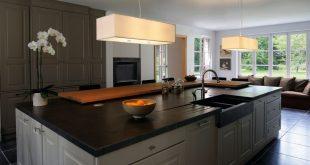 lighting kitchen island with suspension lights
