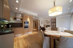 #Kitchen Idea of the Day: Modern Light Wood Kitchens. Kitchen Cabinets Light  Wood
