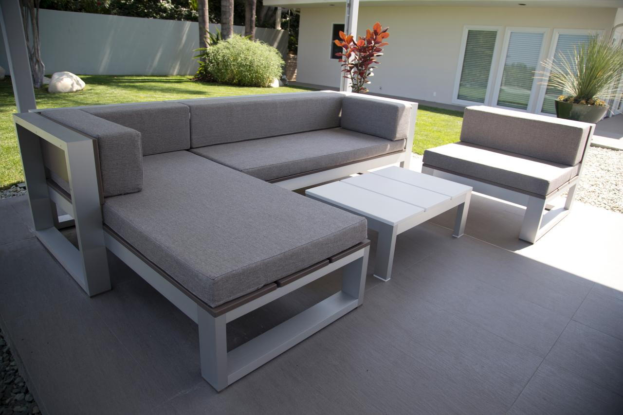Modern DIY Patio Furniture