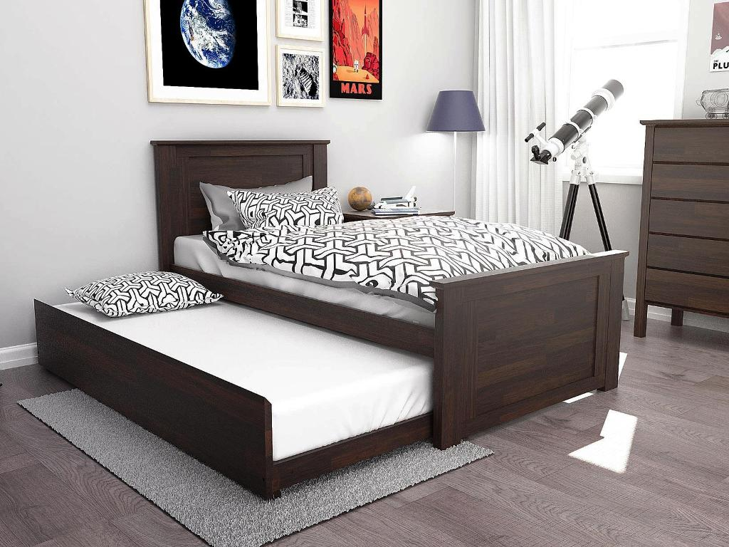 Image of: Modern Trundle Bed Twin
