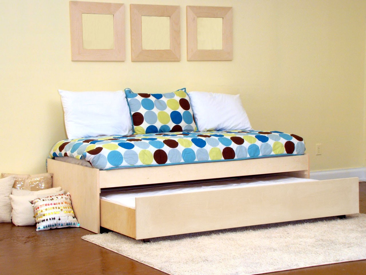 Gothic Modern Trundle Bed