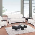 Modern White Living Room Furniture Sets
