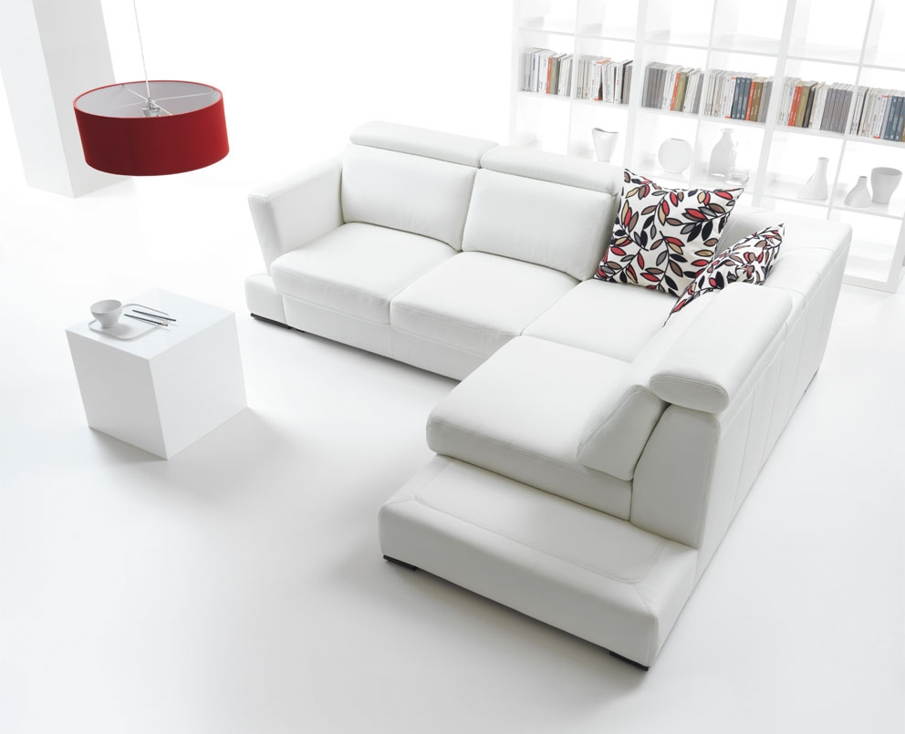 Image of: Stunning White Ikea Sectional Sofa Furniture