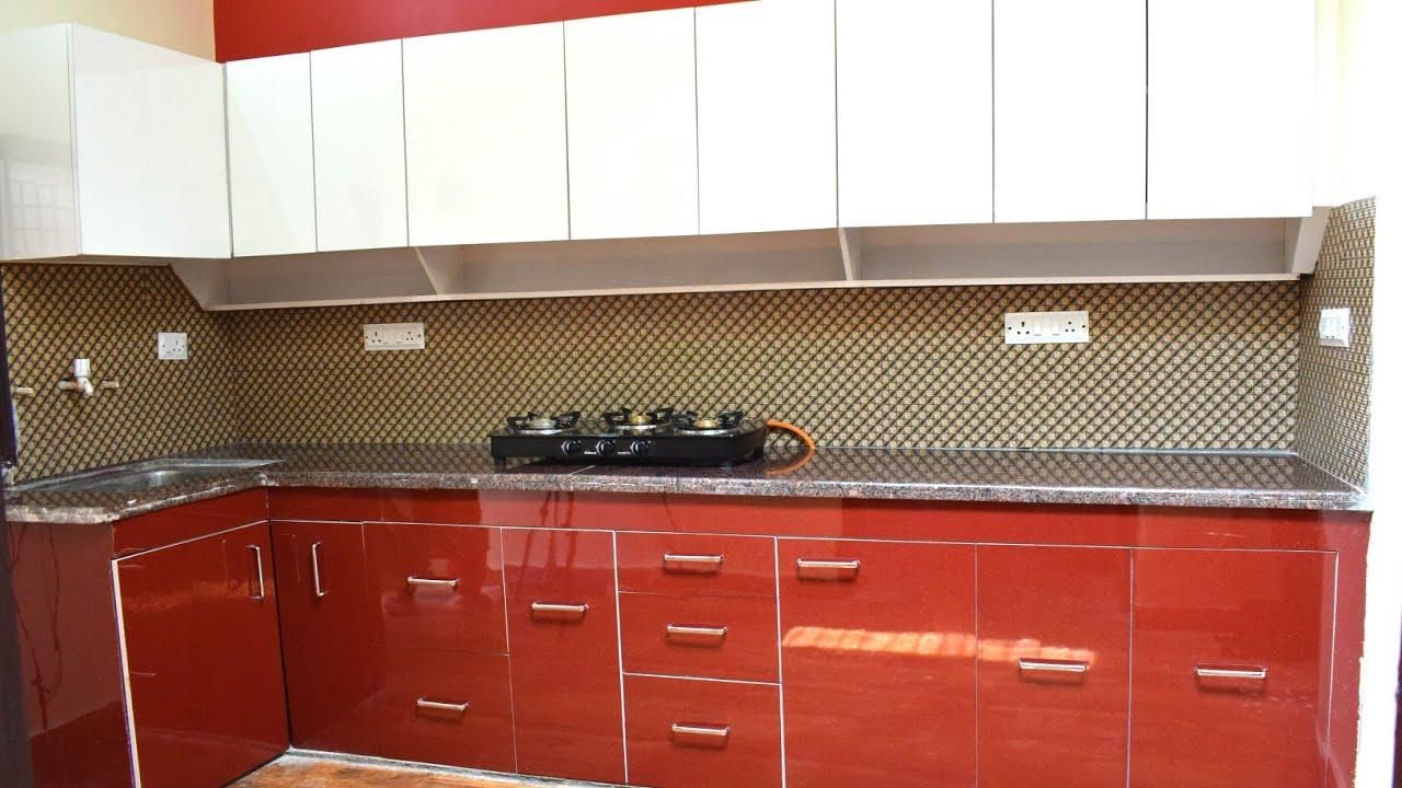 My new kitchen tour | 1 लाख की Modular Kitchen केवल 50000 में वो भी टॉप  क्लास material के साथ