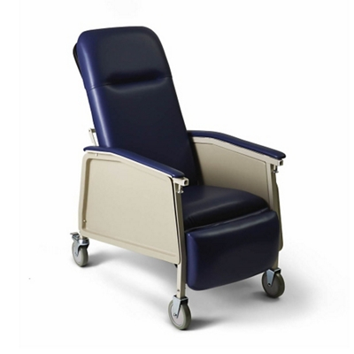 Narrow Mobile Patient Recliner with Adjustable Headrest by Medline | Traveller Location