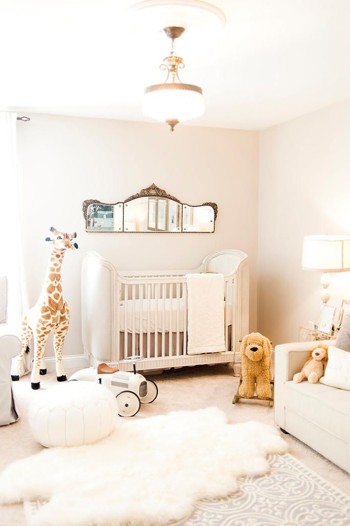 Our Dreamy Parisian Nursery Decor french nursery, nursery decor, interior  design, nursery design, chandelier, Restoration hardware, giraffe, RH baby,