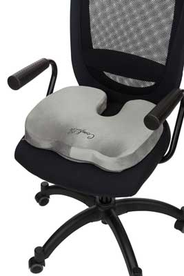 Best Office Chair Cushion - Memory Foam Office Chair and Car Seat Cushion  for Back Pain