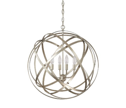 Capital Lighting 4234WG Axis 4-Light Pendant, Winter Gold Finish - Ceiling  Pendant Fixtures - Traveller Location