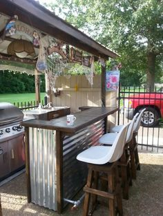 build bar with corrugated metal - Google Search | Projects .