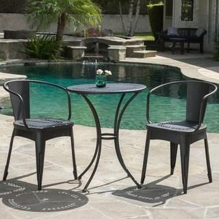 Buy Black Outdoor Bistro Sets Online at Overstock | Our Best Patio  Furniture Deals