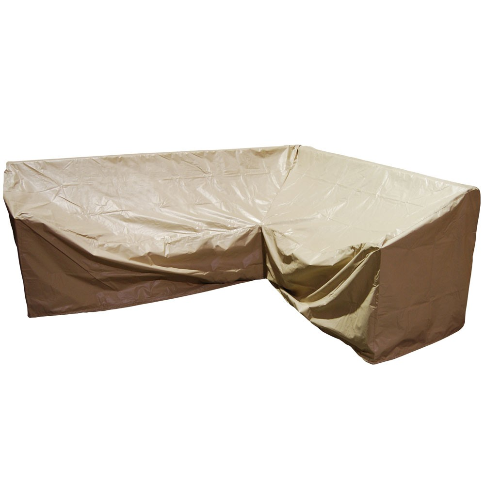 Forever Patio Hampton Wicker 6 Piece Left Facing Sectional Furniture Cover  - Furniture Covers - Patio Accessories - Traveller Location