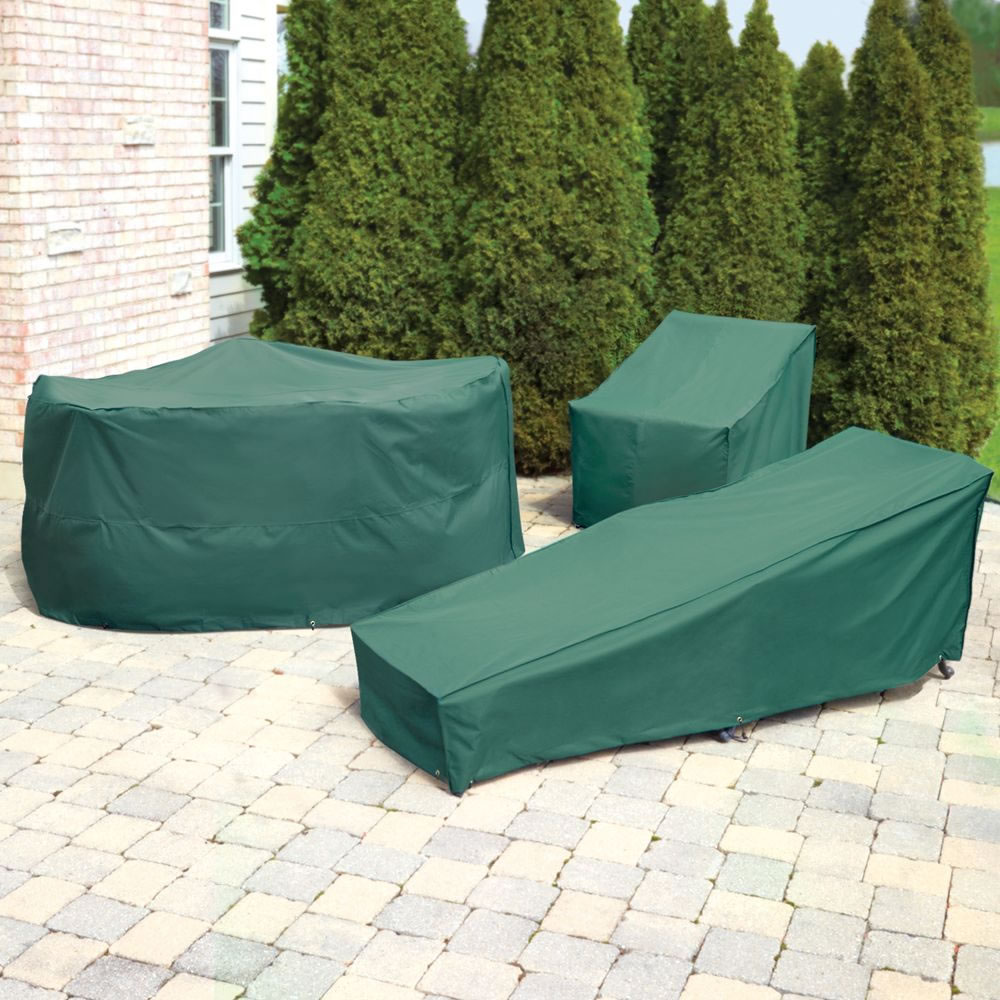 The Better Outdoor Furniture Covers (Chaise Lounge Cover) - Protects  furniture