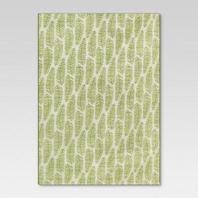 Outdoor Rug - Ferns Green - Threshold™