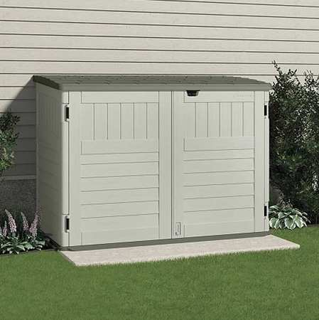 Cascade™ Outdoor Storage Shed, 70-1/2inWx44-1/4inD