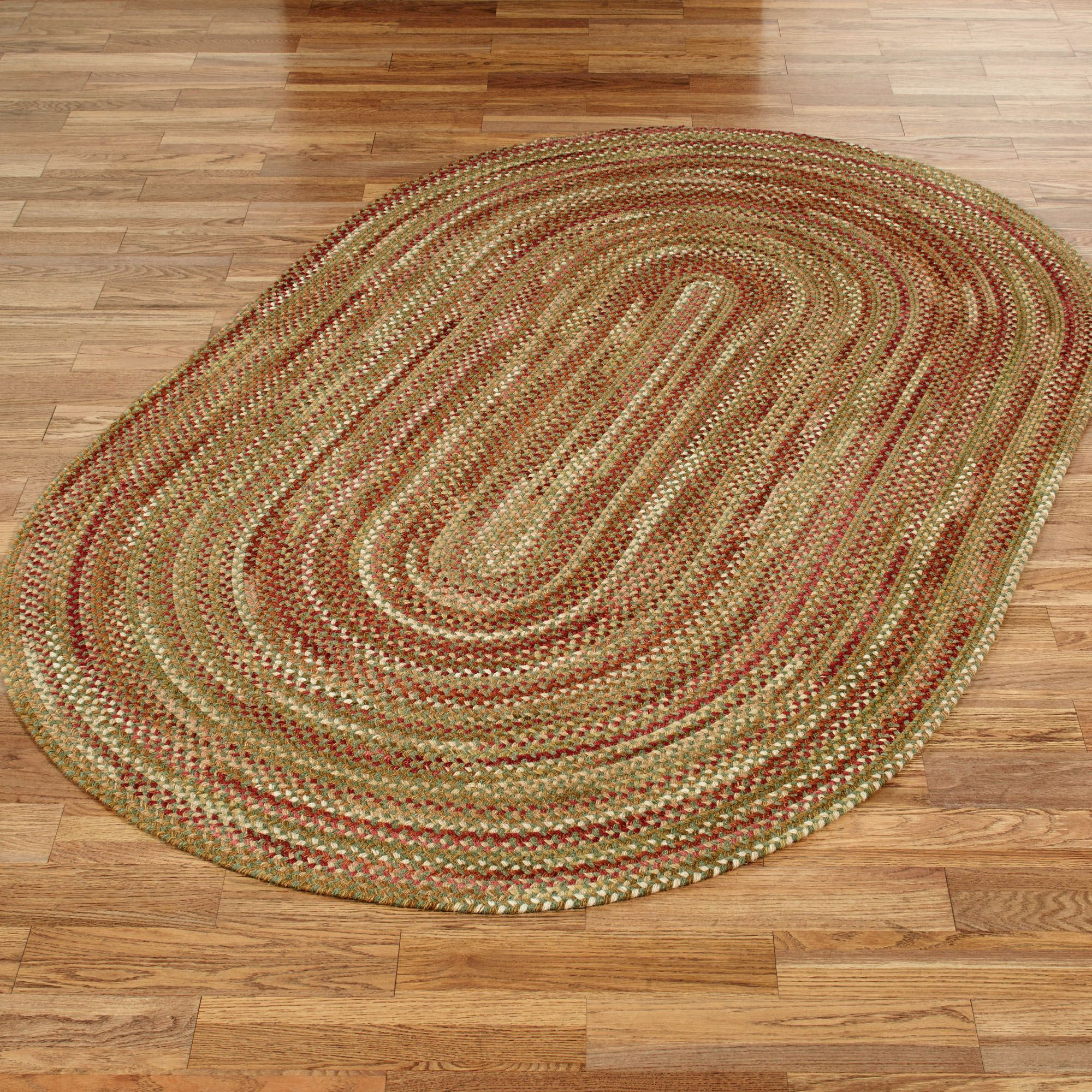 Homecoming Braided Oval Rug