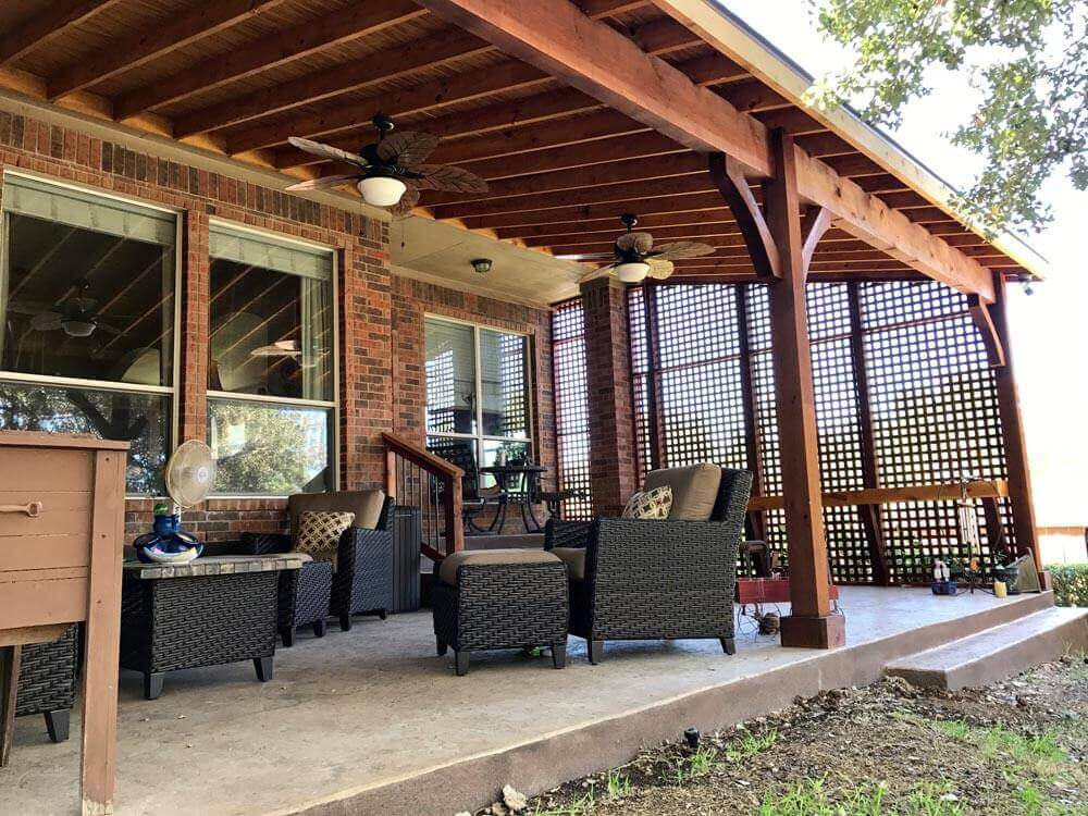 Image of: Cheap Patio Cover Ideas