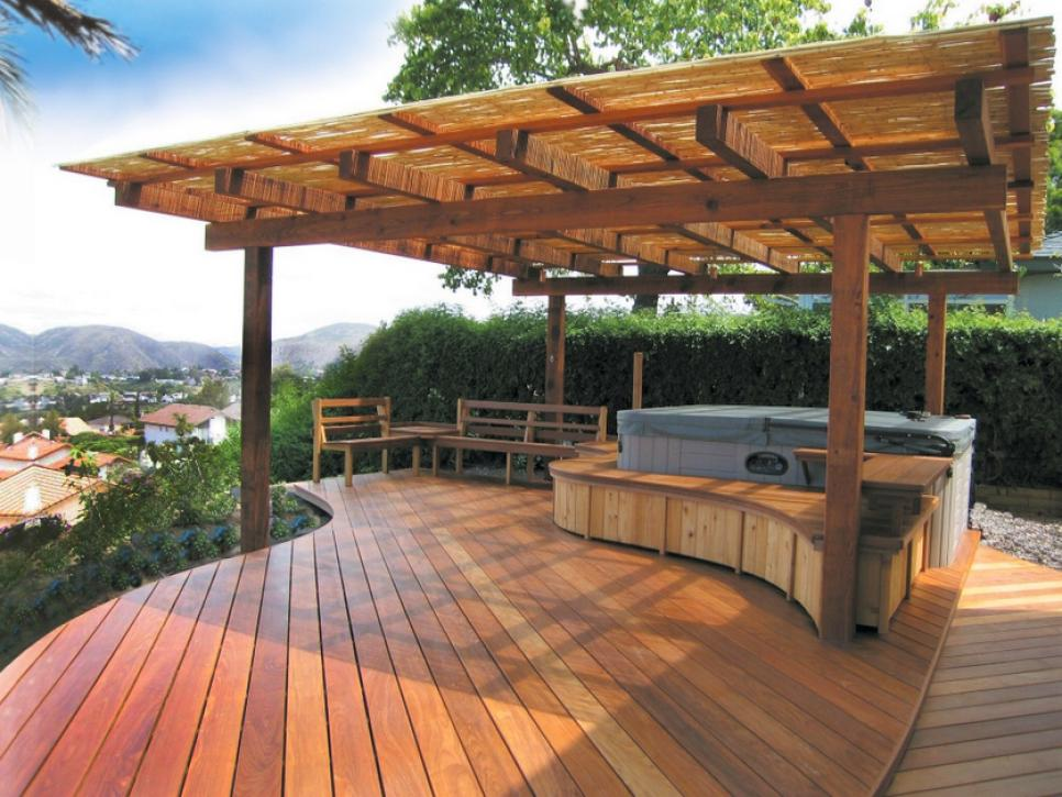 50 Gorgeous Decks and Patios With Hot Tubs