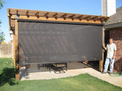 OUTDOOR SPACES - Beat the Heat's patio shades, patio enclosures and