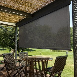 Outdoor Roll Up Patio Shades | Wayfair
