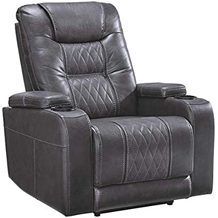 Signature Design by Ashley 2150613 Composer Power Recliner Gray