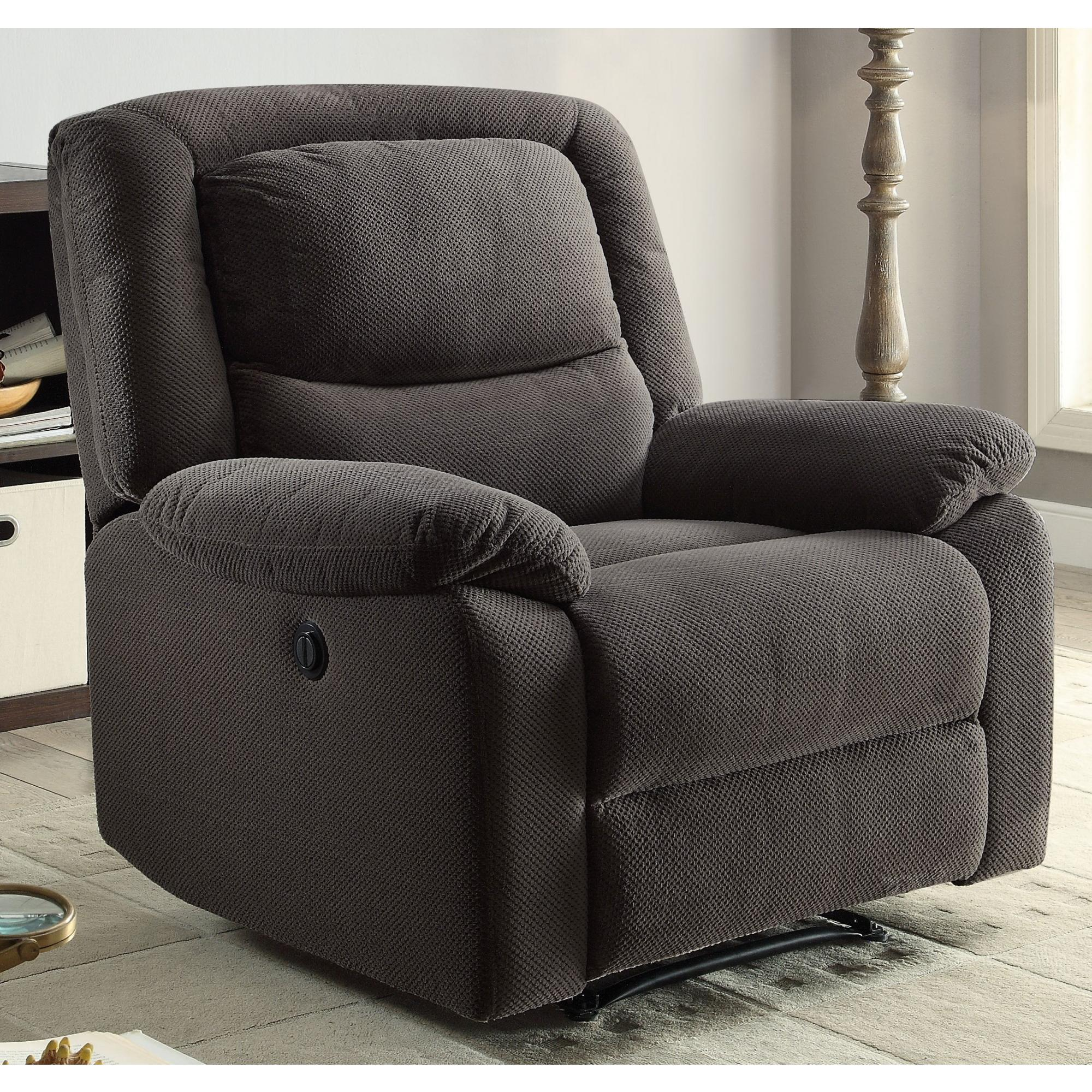 Serta Push-Button Power Recliner with Deep Body Cushions, Ultra Comfortable  Reclining Chair, Multiple Colors - Traveller Location