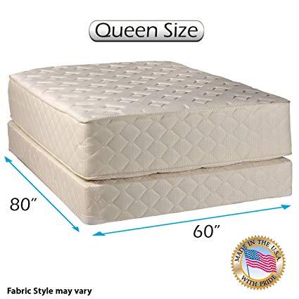 Amazon.com: Dream Sleep Highlight Luxury Firm Queen Mattress Set