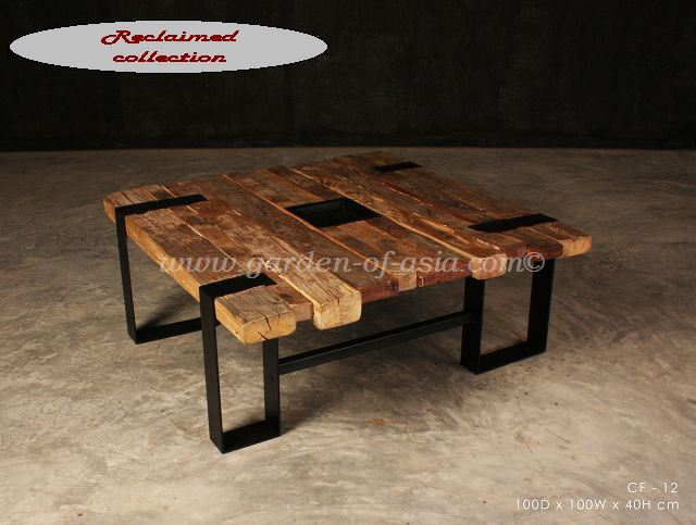 Reclaimed wood furniture, Made in Thailand | Garden of Asia