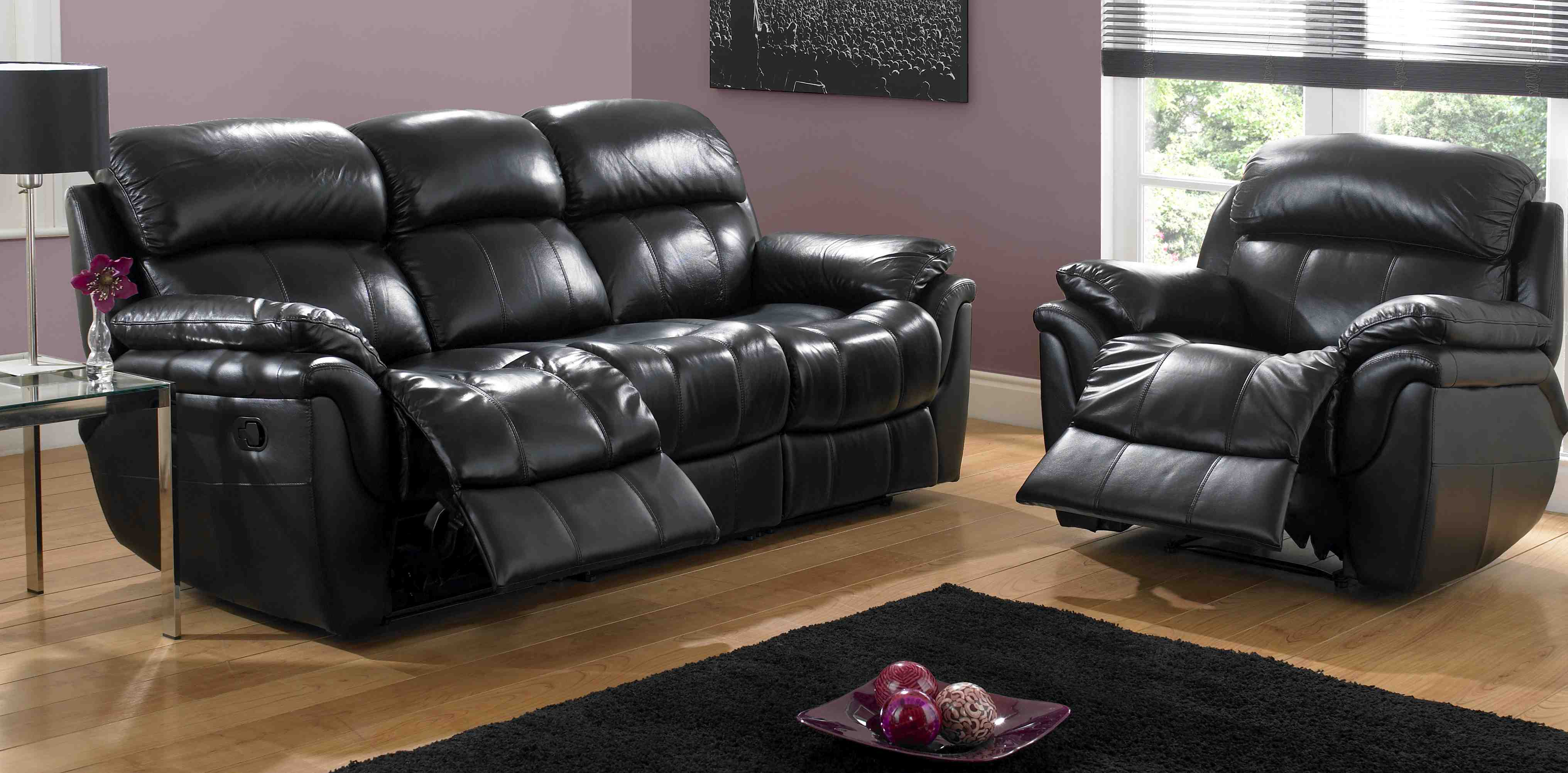 Leather Recliner Sectional Sofa | Leather Sofas with Recliners | Leather  Reclining Sofa