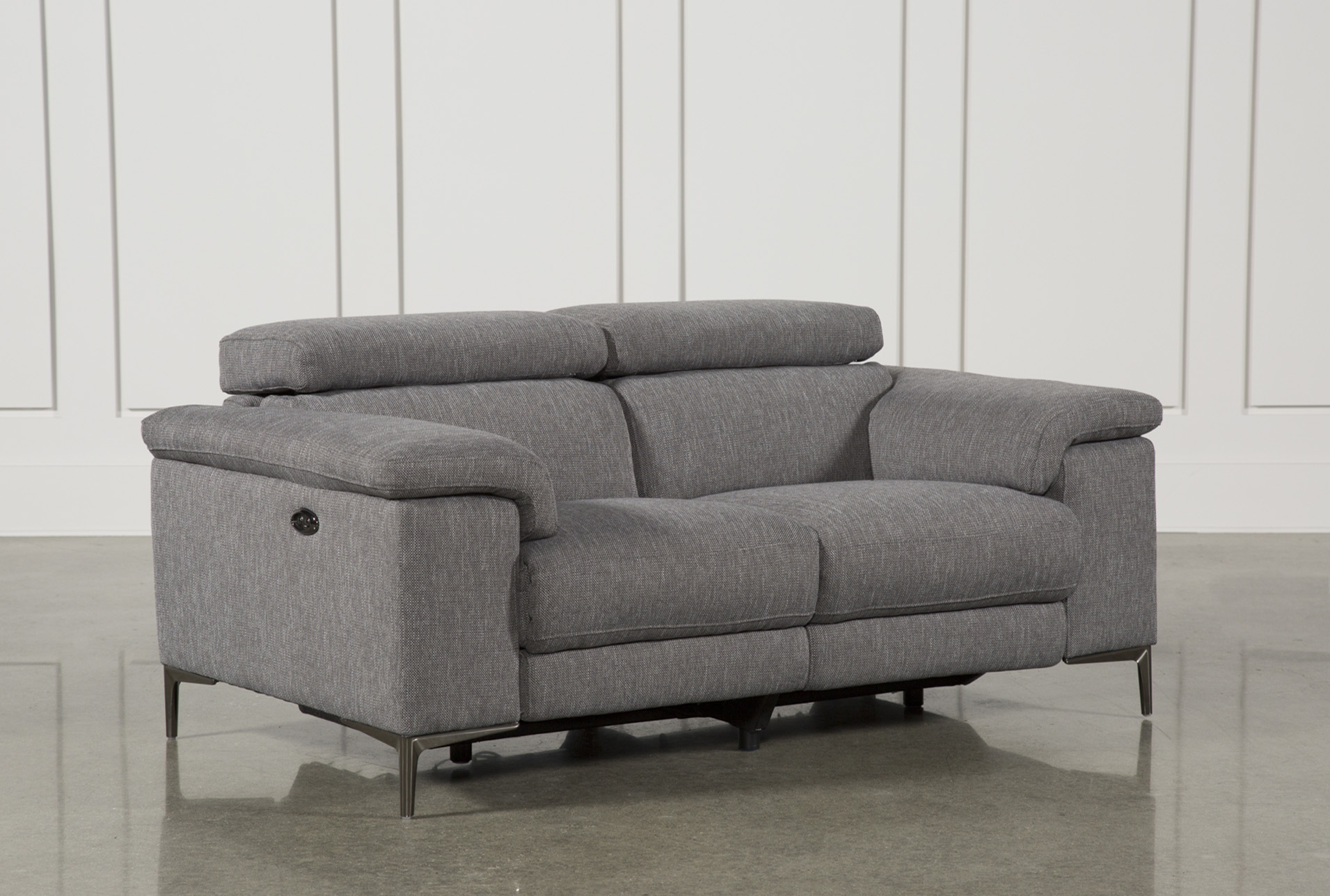 Talin Grey Power Reclining Loveseat W/Usb (Qty: 1) has been successfully  added to your Cart.