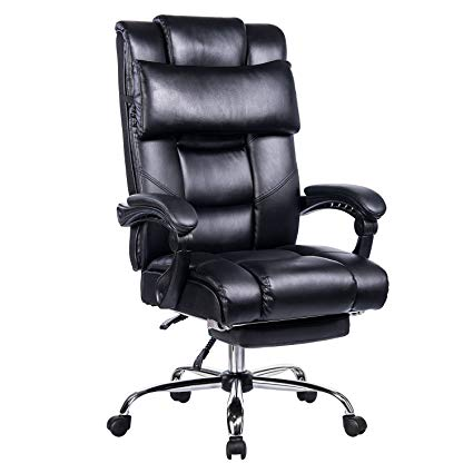Amazon.com : VANBOW Reclining Office Chair - High Back Bonded