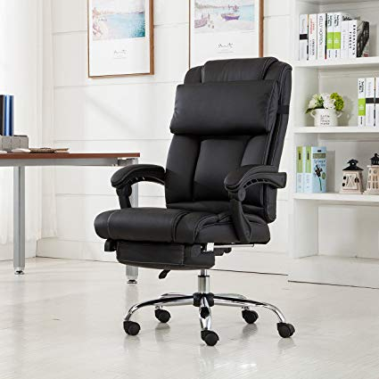 Amazon.com: Belleze Executive Reclining Office Chair High Back PU