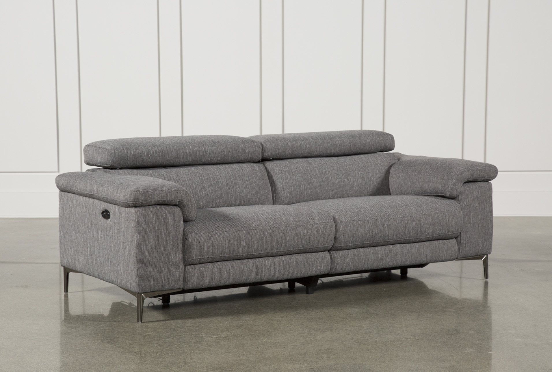 Talin Grey Power Reclining Sofa W/Usb (Qty: 1) has been successfully added  to your Cart.