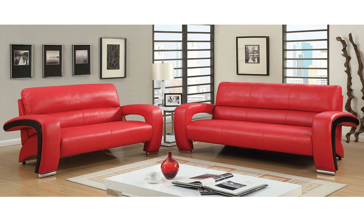 Red Leather Sofa Storiestrending Com