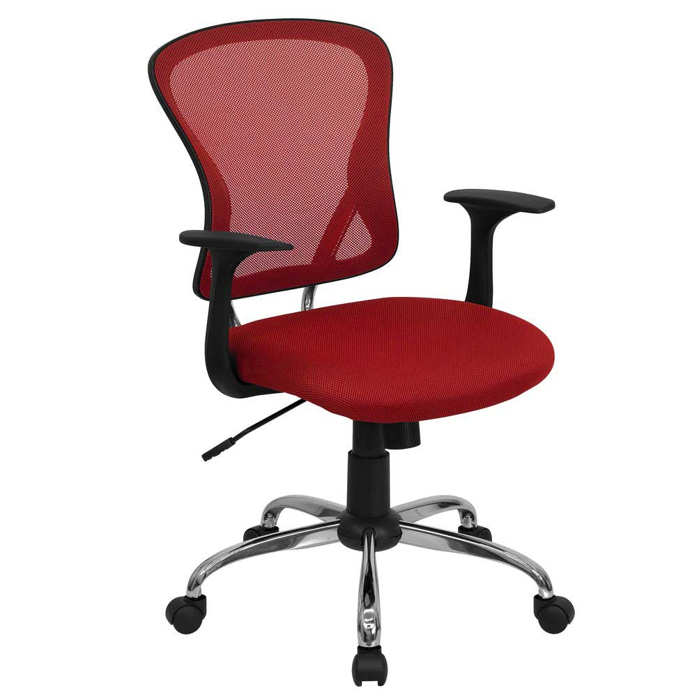 executive office chair red