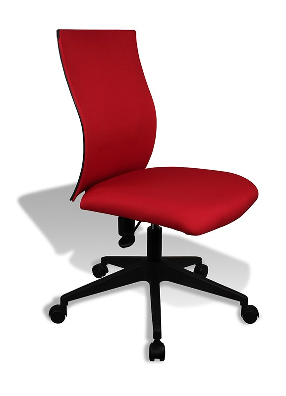 Modern Red Office Chair Kaja by Jesper