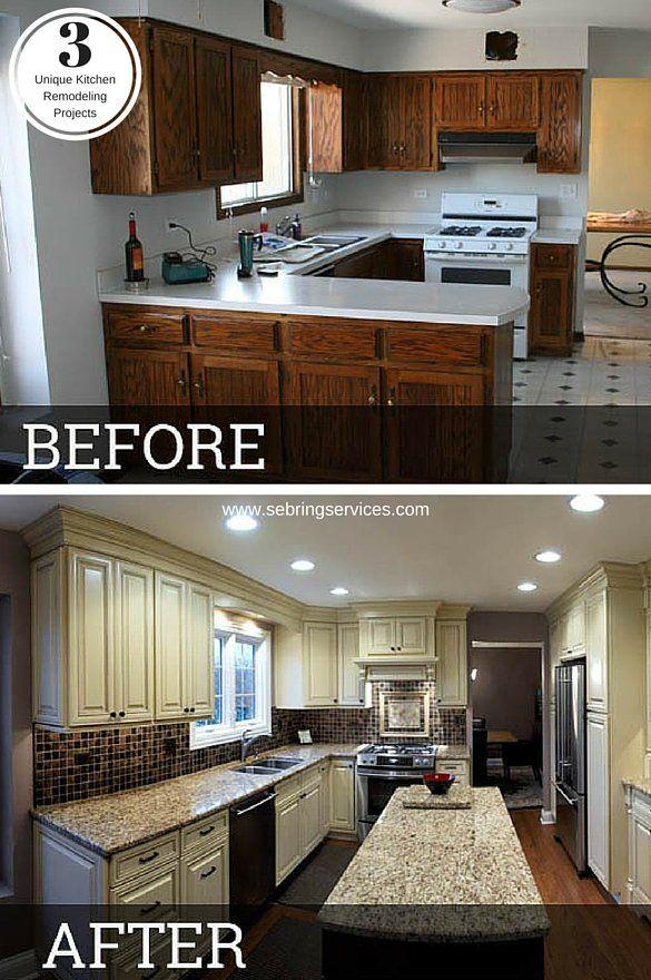 3 Unique Kitchen Remodeling Projects Sebring Services