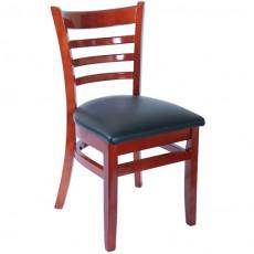Wood Ladder Back Restaurant Chair