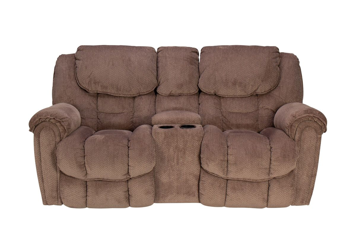 Emery Manual Rocking Reclining Loveseat with Console from Gardner-White  Furniture