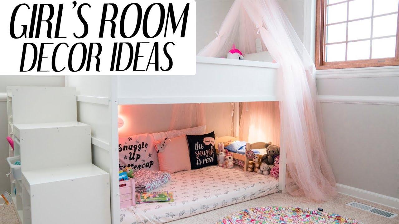 Kids Room Decor Ideas For Girls l xolivi