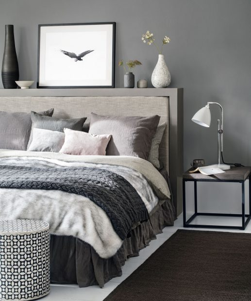 Grey bedroom ideas – from the super glam to the ultra modern