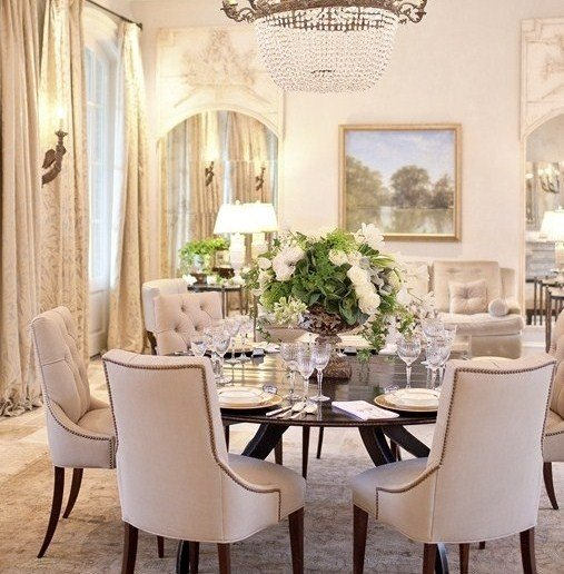Dreaming of a round dining room table