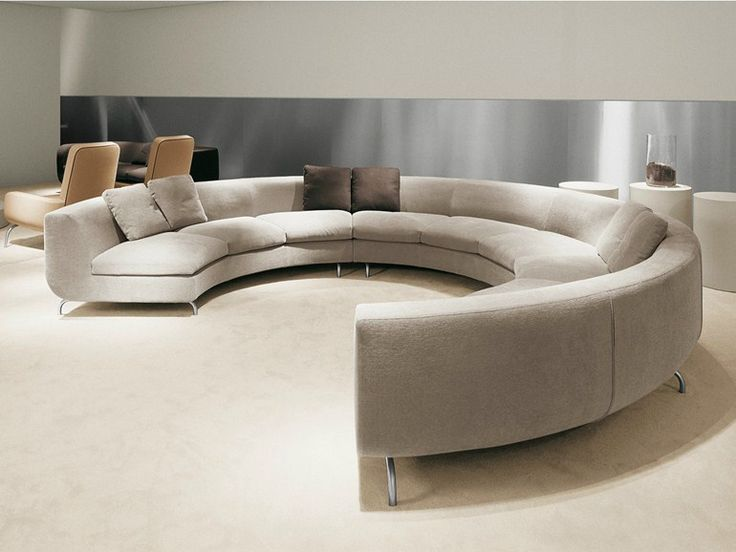 Glamorous Furniture And Living Room Furniture With Round Living Room Table  Sets And Oversized Round Chair As Well As Circular Sectional Sofa